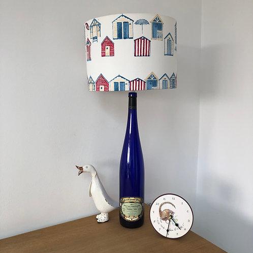 Bottle Lamp and Beach 30cm Hut Shade