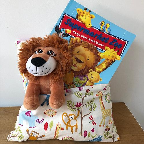 Lion Snuggle Cushion