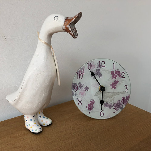 Bird and Floral Clock