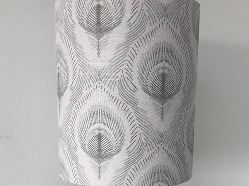 Ostrich Feather Print Shade