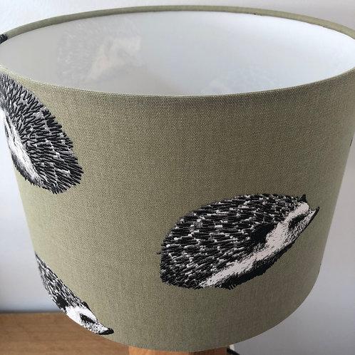 Sage Green Hedgehog Print Shade