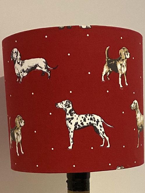 Dog Breeds Print Shade