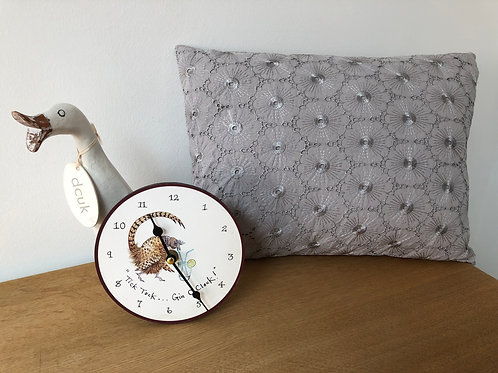 Lace Effect Bolster Cushion