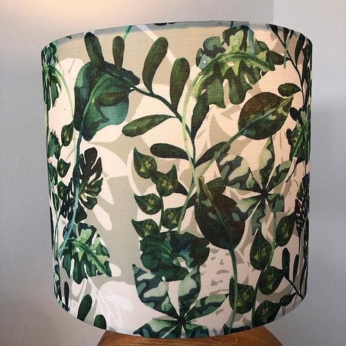 Silk Floral Green Shade