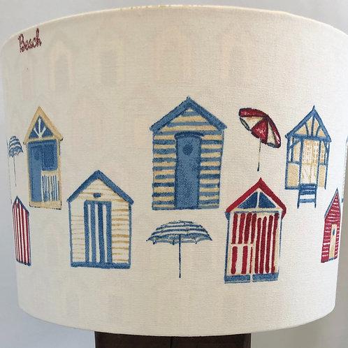 Beach Hut Design Print shade