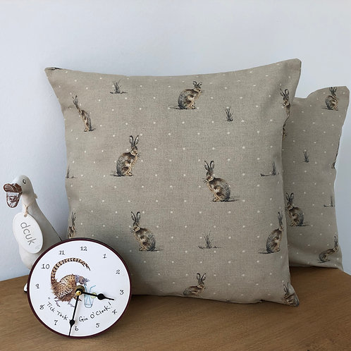 Sitting Hare Cushion covers