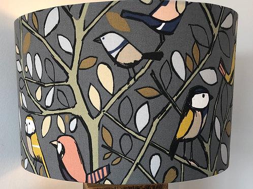 Edinburgh Weave Tweety Birds Fabric Shade