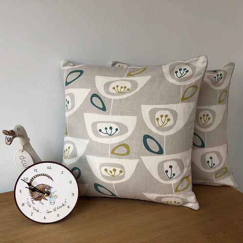 John Lewis Seed Pods Print Cushion Covers