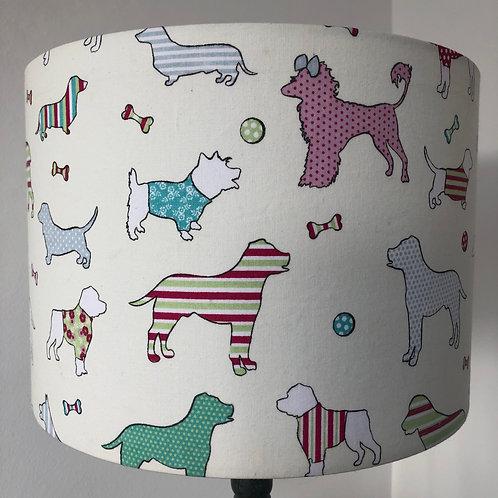 Dog Print Shade