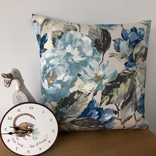 Voyage Floral Print Cushion Cover