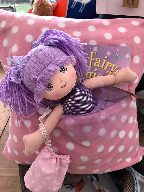 Large Tooth Fairy Snuggle Cushion