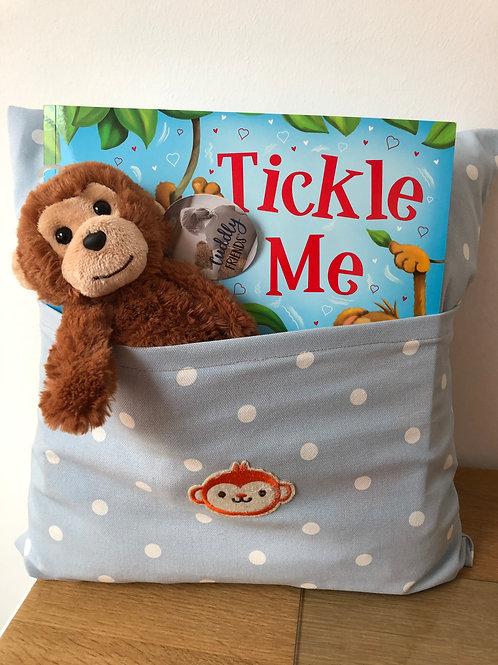Monkey Snuggle Cushion