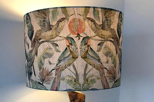 Voyage Tropical Bird Print Shade