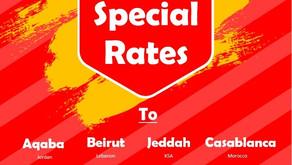 Export Ocean freight Special Rates