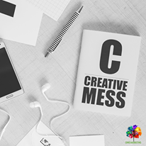 Creativity can be Messy.