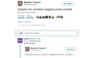 The power of a Tweet. The power of a Word. The power of Covfefe!