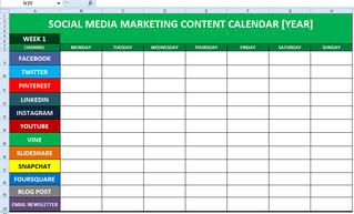 5 Simple Steps in Creating a Social Media Calendar