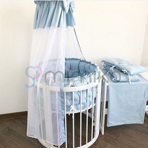 Modrý set ložního pradla