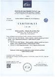 Certifikat rostoucí postýlky Mimiko