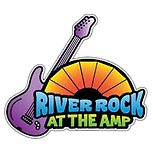 river rock at the amp