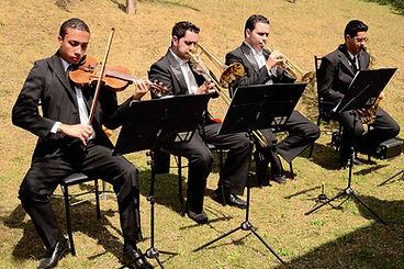 grupo musical com clarins