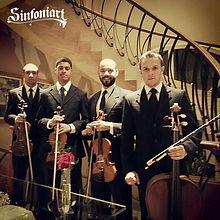 Quarteto de cordas Sinfoniart