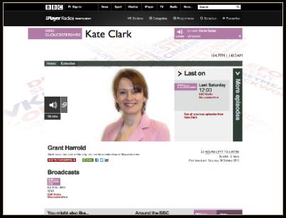 BBC Gloucestershire, & Grant Harrold