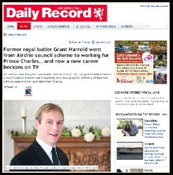 Grant Harrold in Scotlands Paper