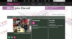 Grant Harrold, chats to BBC Bristol