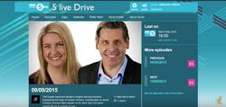 BBC's 5live with Grant Harrold