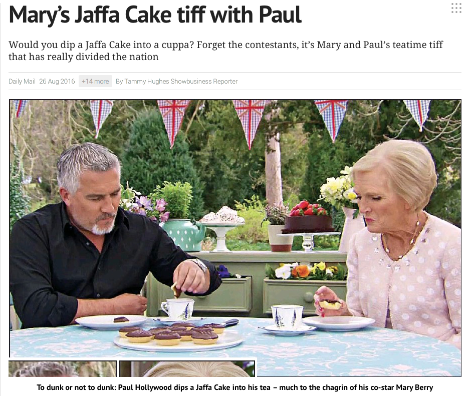 Great British Bake Off Debate