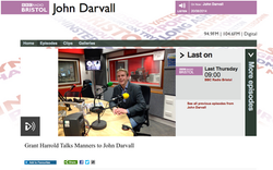 Grant Harrold on BBC Radio Bristol