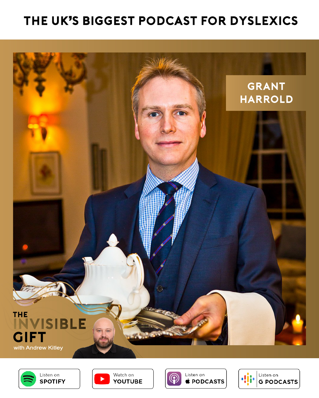 The Invisible Gift, Grant Harrold TRB