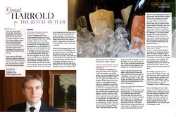 Glass of Bubble & Grant Harrold