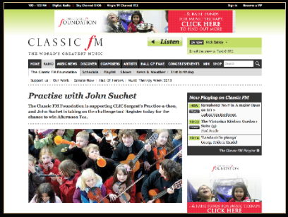 Classic FM and Grant Harrold