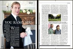 The Lady Magazine, & Grant Harrold
