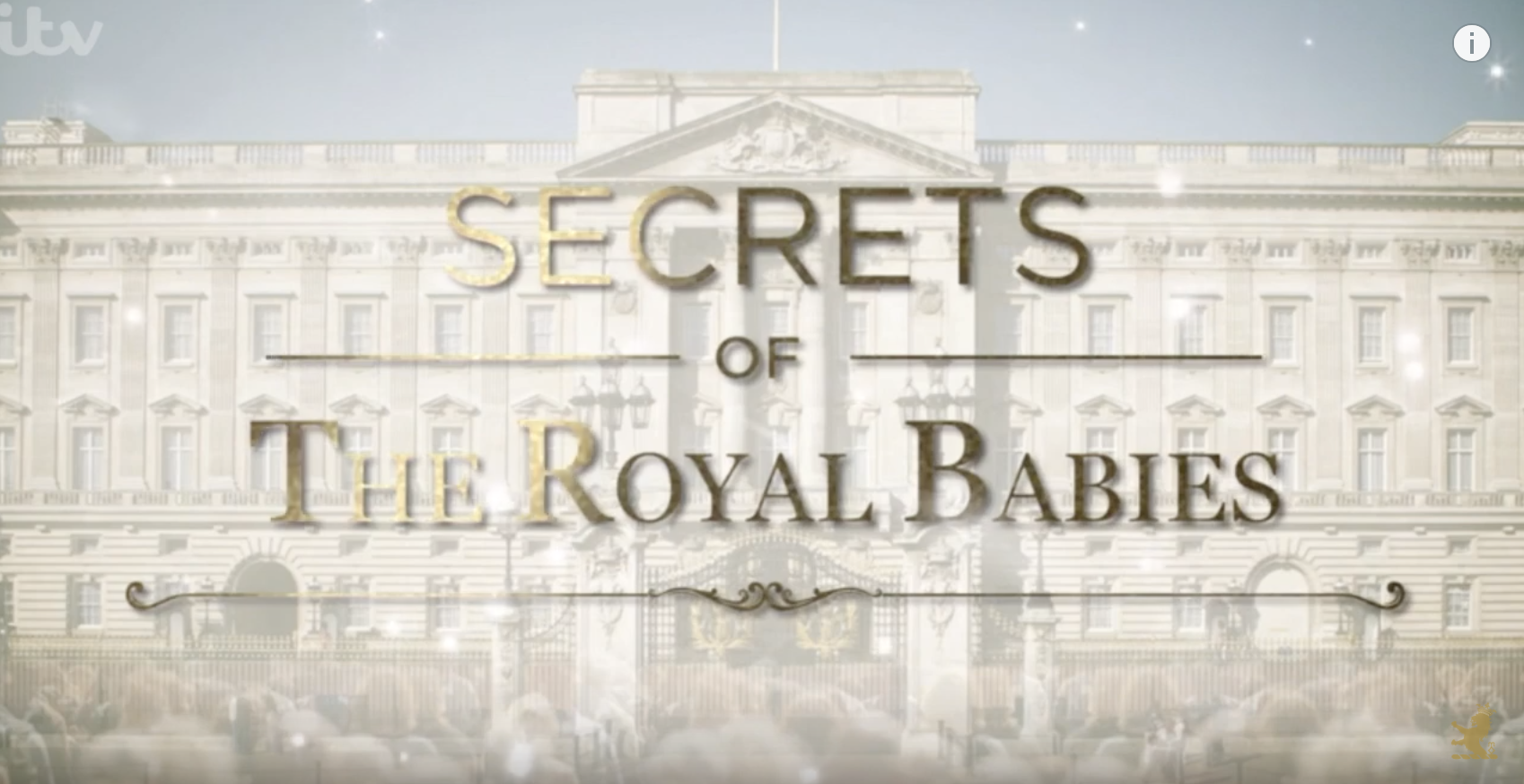 ITV, Secrets of The Royal Babies