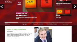 Grant Harrold on BBC News
