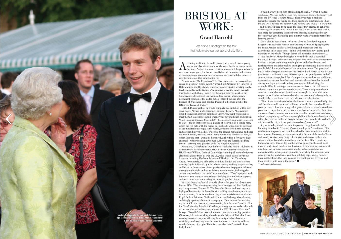 Bristol Magazine Ocotber 2016
