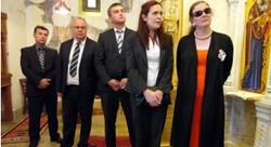 HRH Princess Katarina in Bosnia.