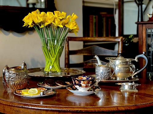 30 Minutes - Tea Etiquette Class