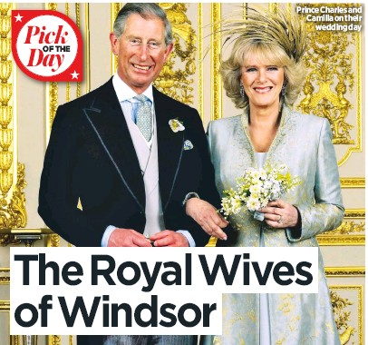 ITV's The Royal Wives of Windsor