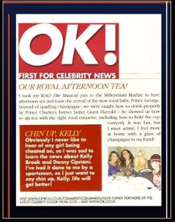 Grant Harrold & OK Magazine