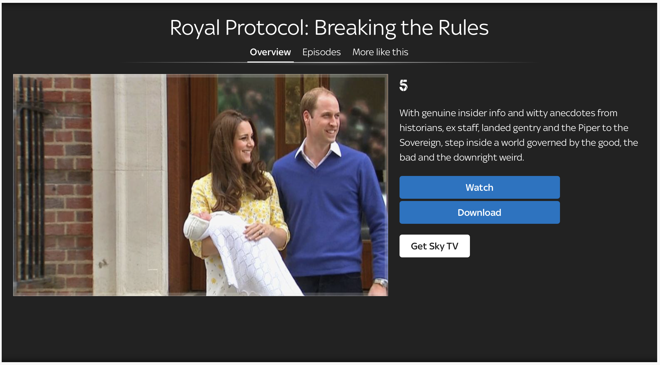 Royal Protocol: Breaking the Rules