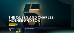 THE QUEEN AND CHARLES: MOTHER AND SON.