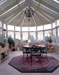 Conservatory interior - stunning!