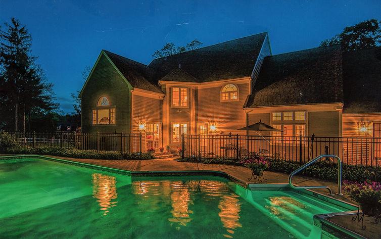 Elegant home, custom home, pool