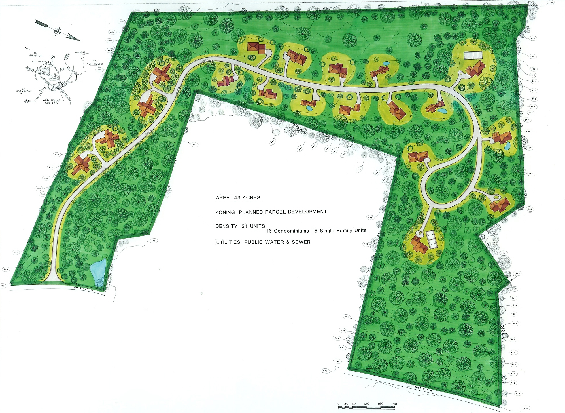 Planned community site