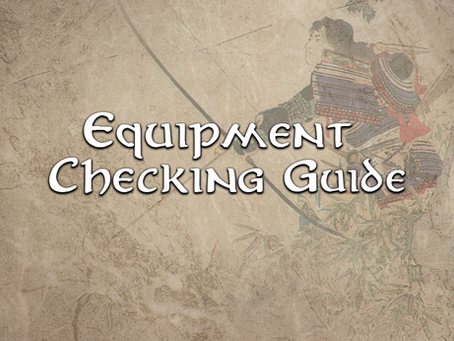 Equipment Checking Guide 03 Missiles & Archery