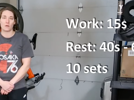 Lockdown - Video 3 - Tabata Method